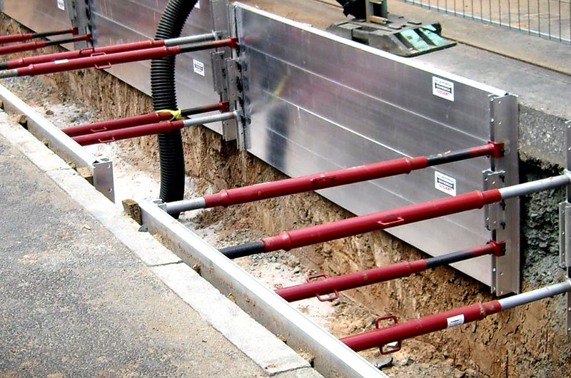 Aluminum Shoring Jacks : Vancouver bc concrete forming shoring propping bracing