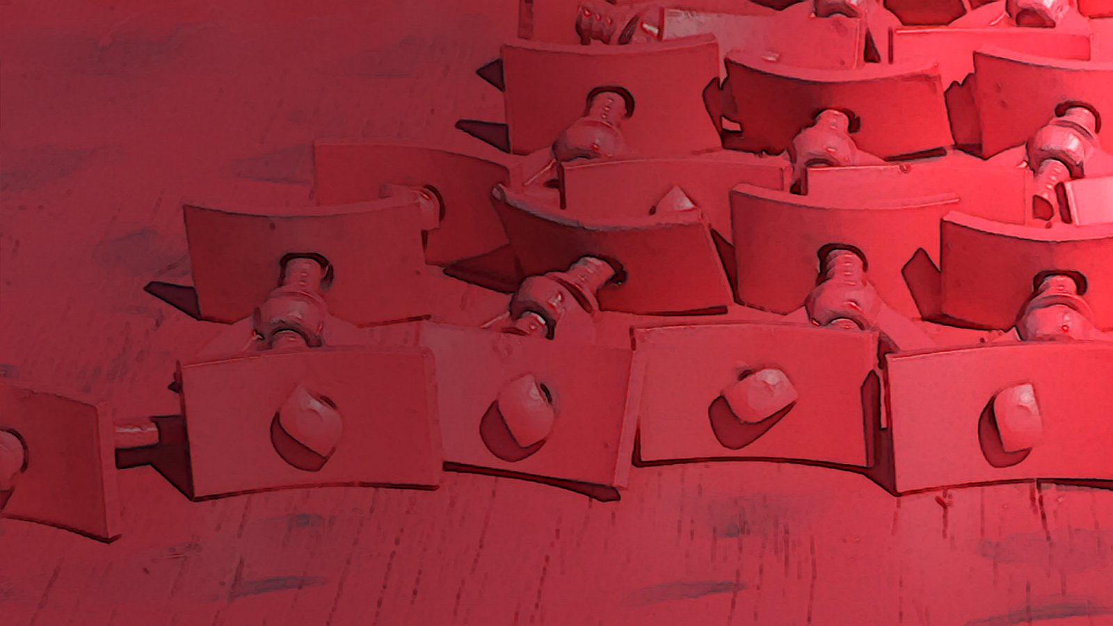 Red Clamps